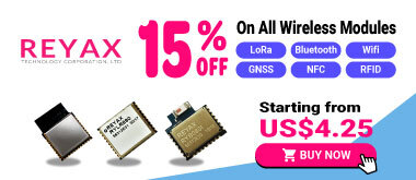 15% off on all wireless modules from 9/13 to 10/10