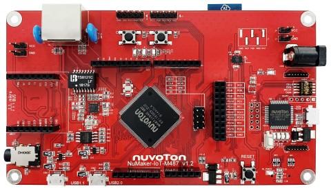 NuMaker-IoT-M487