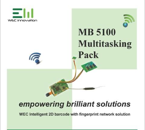 WEC intelligent 2D barcode with fingerprint solution