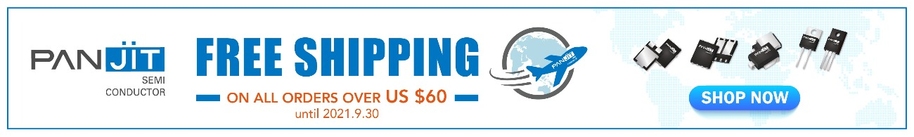 Free Shipping for orders over $60 at Panjit eStore – Shop NOW