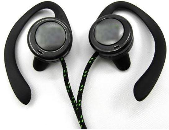 Washable Sport Ear Hook Earphones